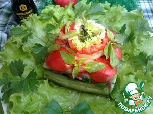 Рецепт Легкий овощной салатик