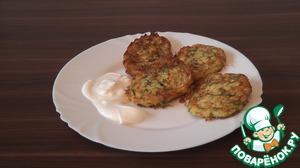 Рецепт Оладьи из кабачков по-турецки