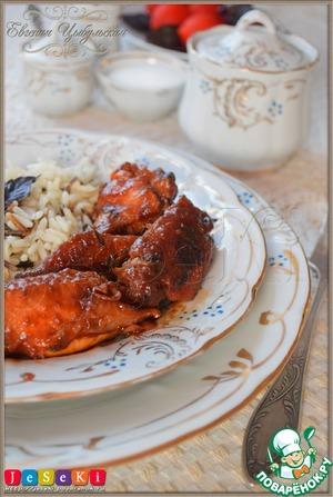 Рецепт Куриные крылышки в остром маринаде в мультиварке