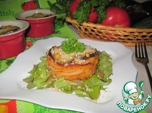 Рецепт Запеканка из пасты с баклажанами