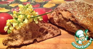 Рецепт Ржаной хлеб на темном пиве