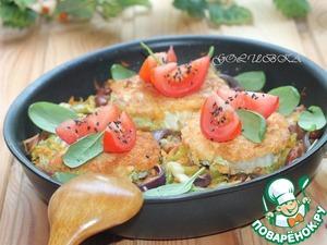 Рецепт Жареная китайская капуста с фасолью