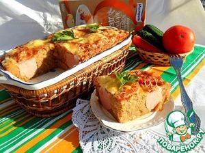 Рецепт Гречневая запеканка с сардельками под томатной корочкой