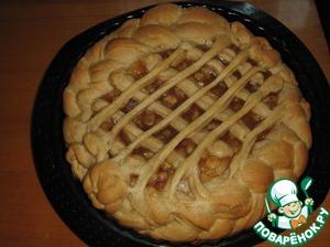 Рецепт Грушевый пирог с корицей