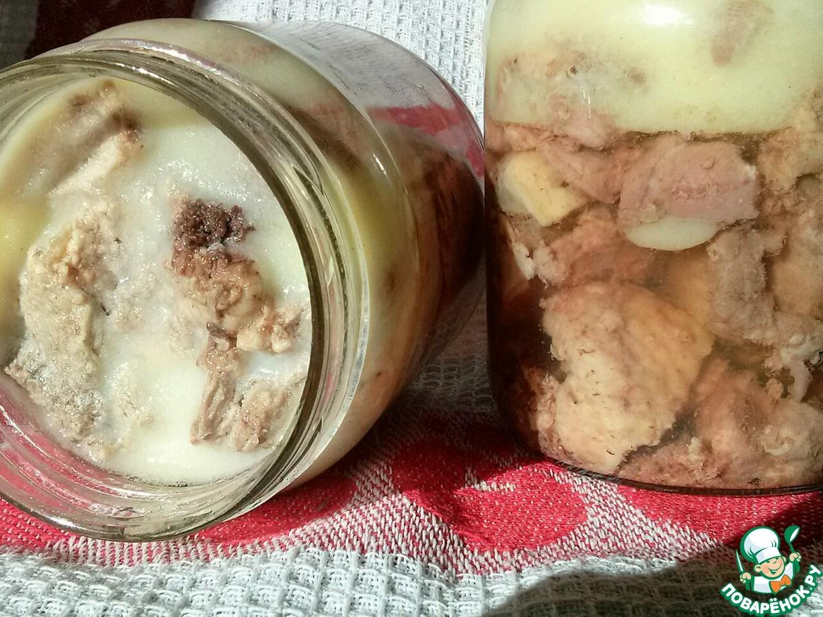 Тушенка из утки в домашних условиях рецепт