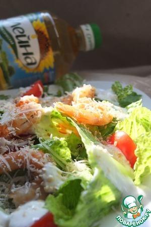 Салат с креветками вкусный пошаговый рецепт с фото