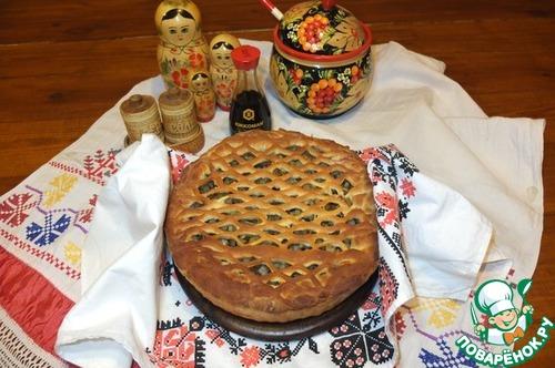 """Пирог """"Солнечный"""" рецепт приготовления с фото пошагово #10"""