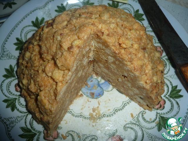 торт муравейник в мультиварке рецепты с фото
