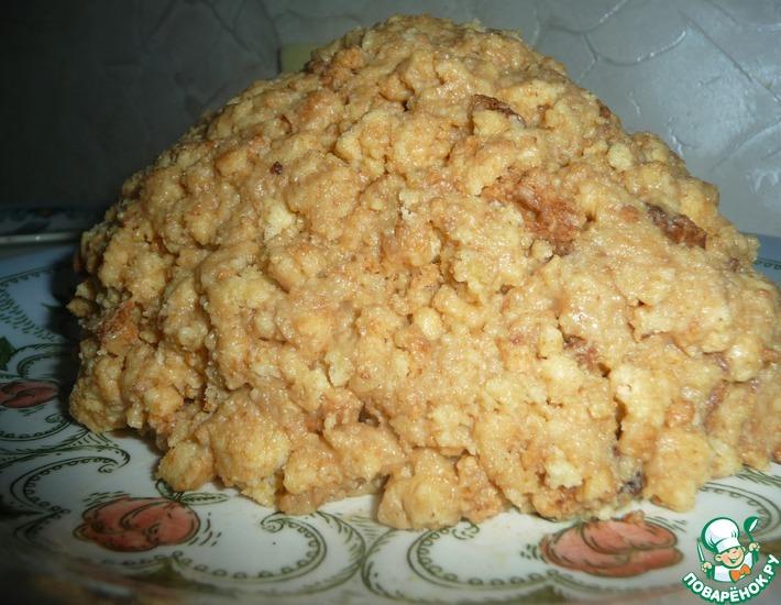 Торт муравейник со сметаной