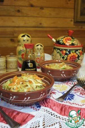 Салат с редькой вкусный рецепт с фото