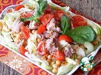 Салат из нута и тунца ингредиенты