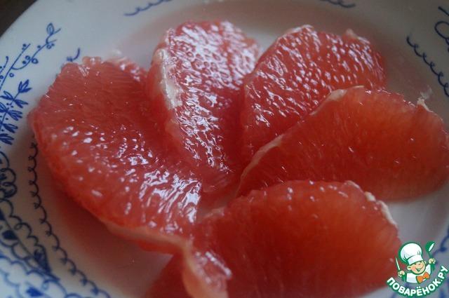 Весенний цитрусовый салат домашний рецепт приготовления с фотографиями пошагово готовим #1