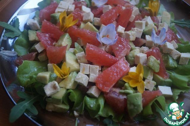 Весенний цитрусовый салат домашний рецепт приготовления с фотографиями пошагово готовим #6