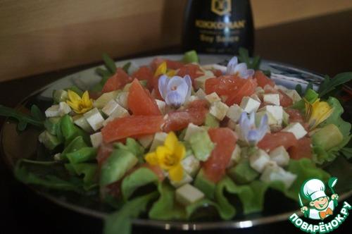 Весенний цитрусовый салат домашний рецепт приготовления с фотографиями пошагово готовим #7