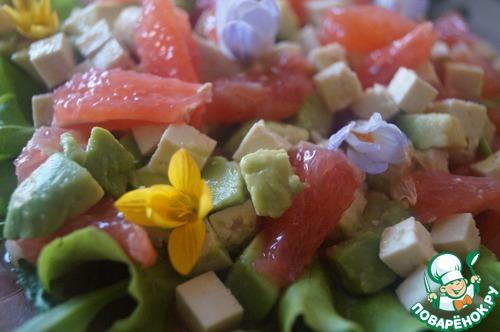 Весенний цитрусовый салат домашний рецепт приготовления с фотографиями пошагово готовим #8