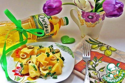 Картофель, тушенный с оливками и лимоном рецепт с фото готовим #8