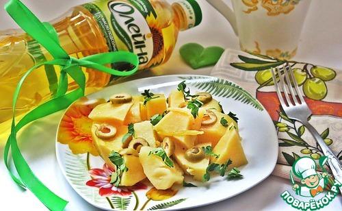 Картофель, тушенный с оливками и лимоном рецепт с фото готовим #9