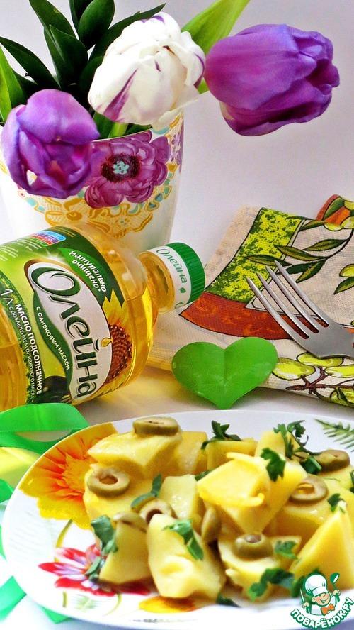 Картофель, тушенный с оливками и лимоном рецепт с фото готовим #7
