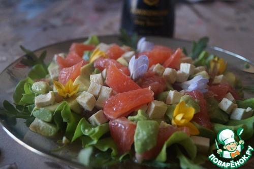Весенний цитрусовый салат домашний рецепт приготовления с фотографиями пошагово готовим #9