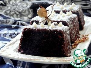 Шоколадно-овсяный кекс домашний пошаговый рецепт приготовления с фотографиями