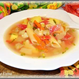 : Постный овощной суп