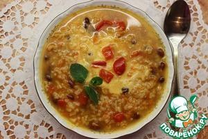 Рецепт Красный английский суп