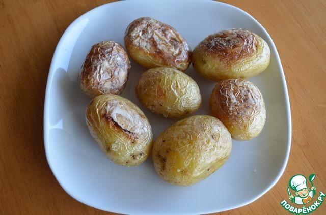 """Картофельный салат с заправкой """"Ранчо"""" домашний рецепт с фотографиями пошагово готовим #3"""
