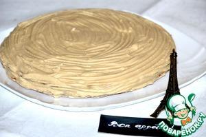 Рецепт Женуаз с масляно-меренговым кремом