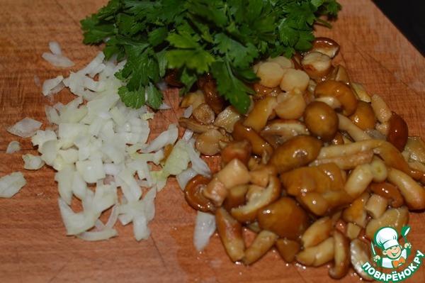Куриное филе с грибами как приготовить