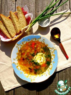 Рецепт Баклажановый суп