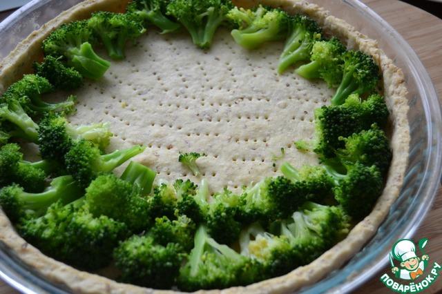 киш с брокколи рецепт фото