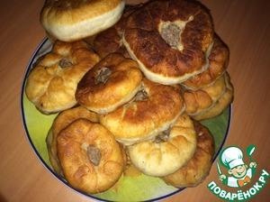 Рецепт Бабушкины татарские беляши