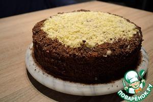 Торт шоколадный домашний рецепт с фото пошагово