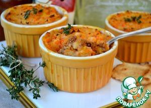 Рецепт Запеканка Пармантье с морковью (HACHIS PARMENTIER)