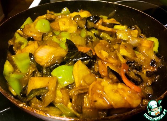 Курица в кисло-сладком соусе по-китайски с ананасом рецепт с фото
