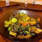 Баклажаны с картошкой по-китайски