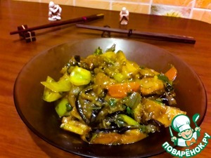 Рецепт Баклажаны с картошкой по-китайски