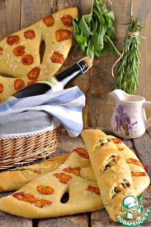 Рецепт Два ароматных французских хлеба