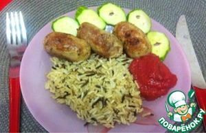 Рецепт Колбаски из индейки
