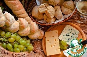 Рецепт Багет с вариациями