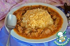 Рецепт Рис с карри из говядины