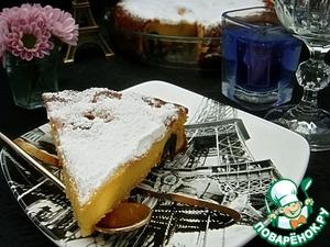 Рецепт Клафути с засахаренными маслинами