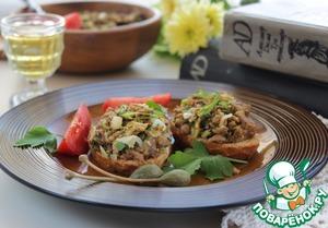 Рецепт Горячая мясная закуска Риссоле