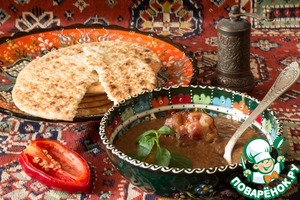 Рецепт Суп-пюре из фасоли с беконом и черносливом