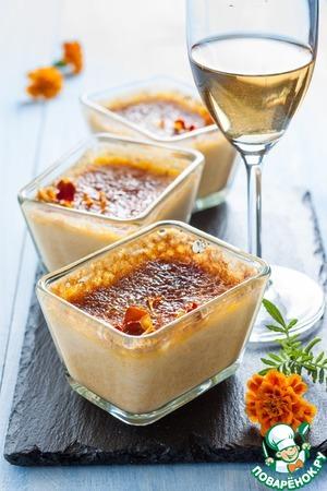 Рецепт Пряный тыквенный крем-брюле
