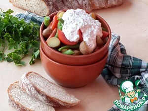 Рецепт Французский крестьянский салат