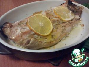 Рецепт Горбуша с лимоном в духовке