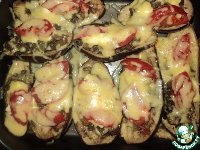Баклажаны фаршированные пошаговый рецепт с фото