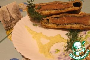 Рецепт Бёф ан крут с соусом голландез