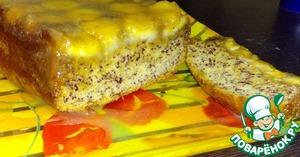 Рецепт Банановый пирог-перевёртыш с карамелью